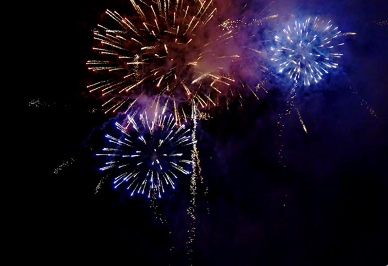 Feuerwerk der Feuerkünstler Inferno